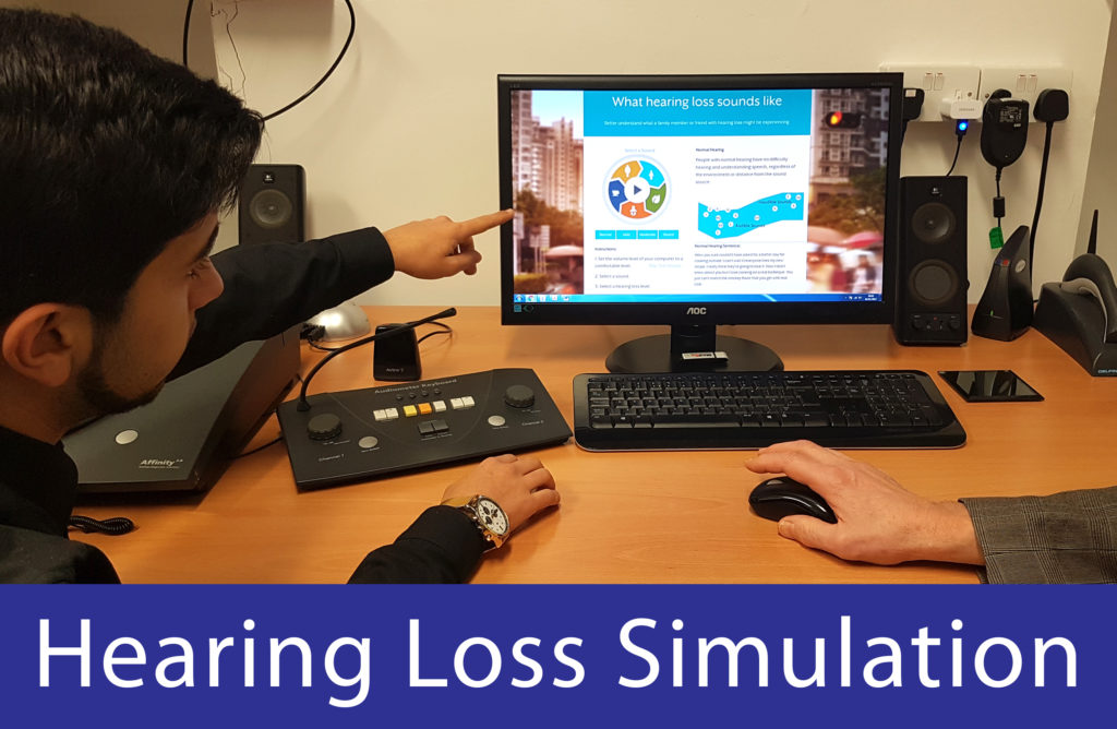 Diagnostic Hearing Tests - hearing loss simulation